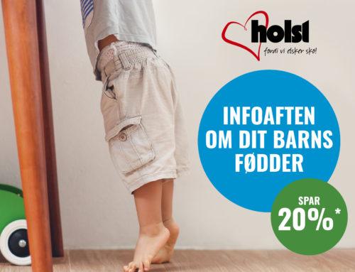Kom til gratis info. aften hos Holst Sko Fredericia